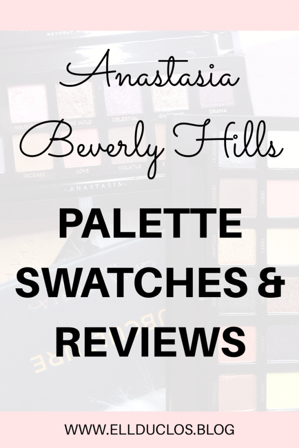 Anastasia Beverly Hills palettes swatches and reviews. Are the ABH palettes worth the hype? First impressions.