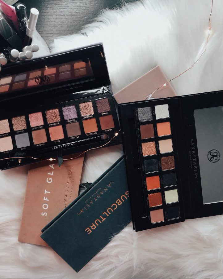Anastasia Beverly Hills palette swatches and reviews. My first impressions of the ABH palettes. Which Anastasia Beverly Hills palette is worth the money?