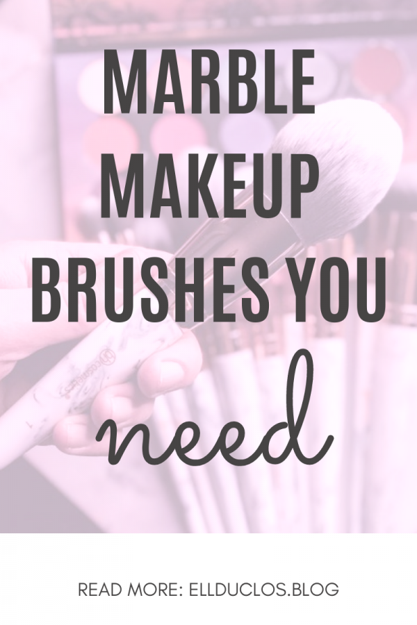 BH Cosmetics Marble Makeup Brush Set Review