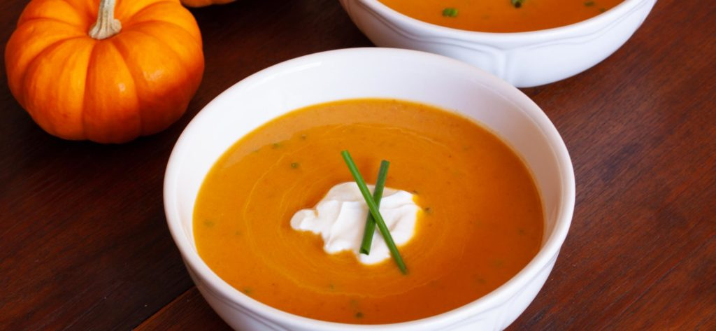 Delicious holiday recipes for any party. Wow your family and friends with this delicious holiday ginger pumpkin soup recipe.