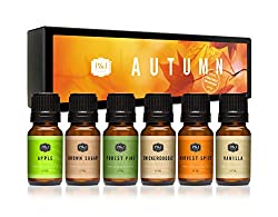 Fall scented essential oils from Amazon