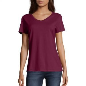 V-neck t-shirts for fall from Walmart.
