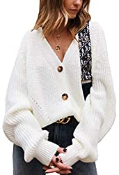 White Button Cardigan - Amazon Fall Fashion Finds