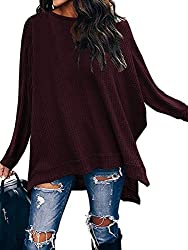 Maroon pullover sweater from Amazon - Fall fashion