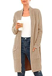 Plush cardigan from Amazon - Fall fashion finds