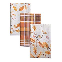 fall kitchen towel set from Amazon