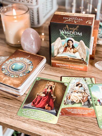 Angel Wisdom Tarot Deck - the best tarot decks for beginners