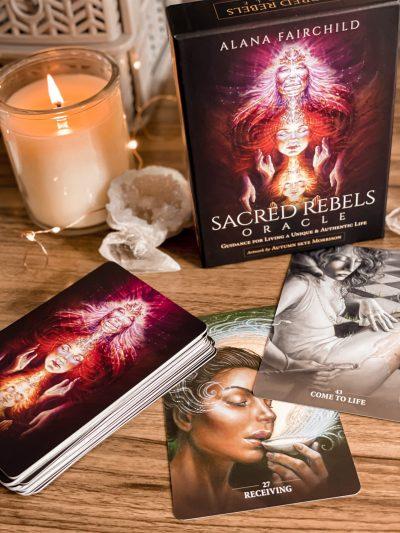The best oracle decks - The Sacred Rebels Oracle