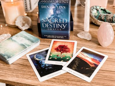 The best oracle decks for beginners - Sacred Destiny oracle deck