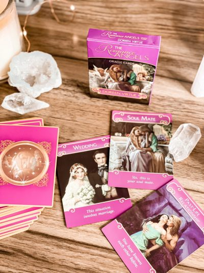 The romance angels oracle deck