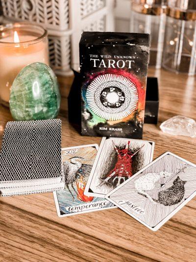 The best tarot card decks - The wild unknown tarot deck